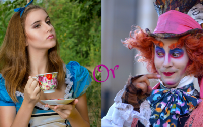 Alice? or the Mad Hatter…